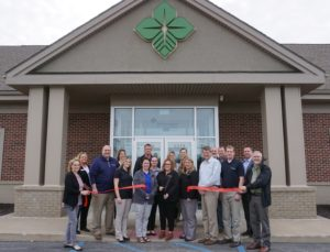 Ribbon Cutting at Farm Credit Mid America
